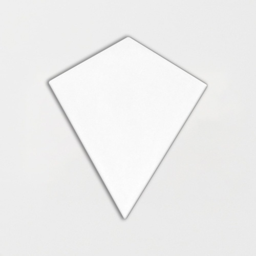 Royal White Glossy Diamante Ceramic Tiles 6 1/8×6 7/8