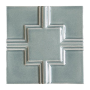 Witty Green Glossy Link Ceramic Wall Decos 6x6
