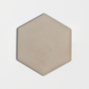 Latte Glossy Hexagon Ceramic Tiles 5