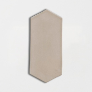 Latte Glossy Picket Ceramic Tiles 3x6