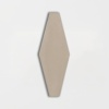 Latte Glossy Longest Hexagon Ceramic Tiles 3×7 7/8