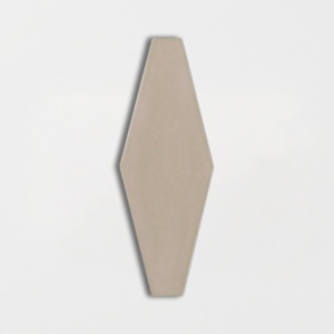 Latte Glossy Longest Hexagon Ceramic Tiles 3x7 7/8