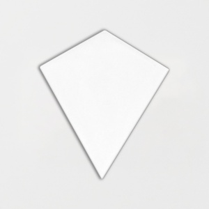 Satin Cotton Matte Diamante Ceramic Tiles 6 1/8x6 7/8