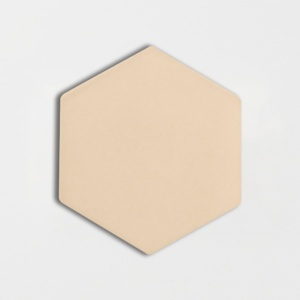 Honey Glossy Hexagon Ceramic Tiles 5