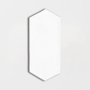 Satin Cotton Matte Picket Ceramic Tiles 3x6