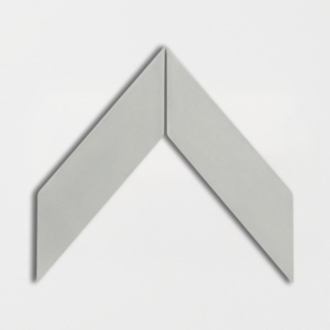 Cold Glossy Chevron Ceramic Tiles 2x6
