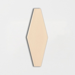 Honey Glossy Longest Hexagon Ceramic Tiles 3x7 7/8