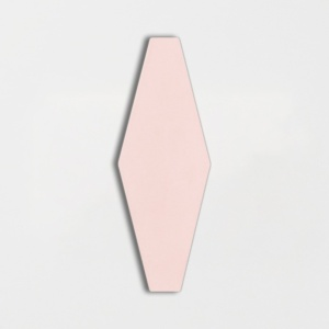 Rosie Glossy Longest Hexagon Ceramic Tiles 3x7 7/8