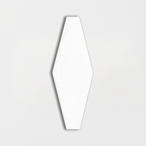 Satin Cotton Matte Longest Hexagon Ceramic Tiles 3x7 7/8