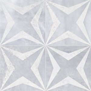 Allure Diced Stars Marble Tiles 8x8