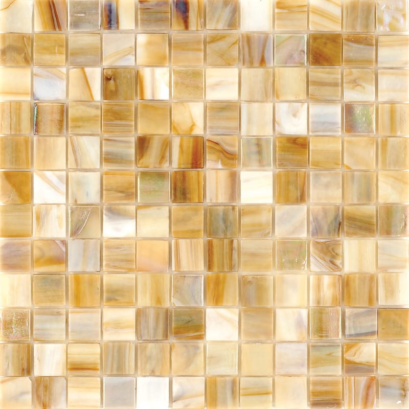 Mare Perl Polished 12x12 1x1 Glass Mosaics