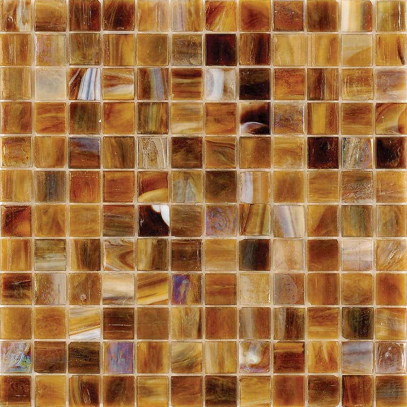 Mare Mist Polished 12x12 1x1 Glass Mosaics