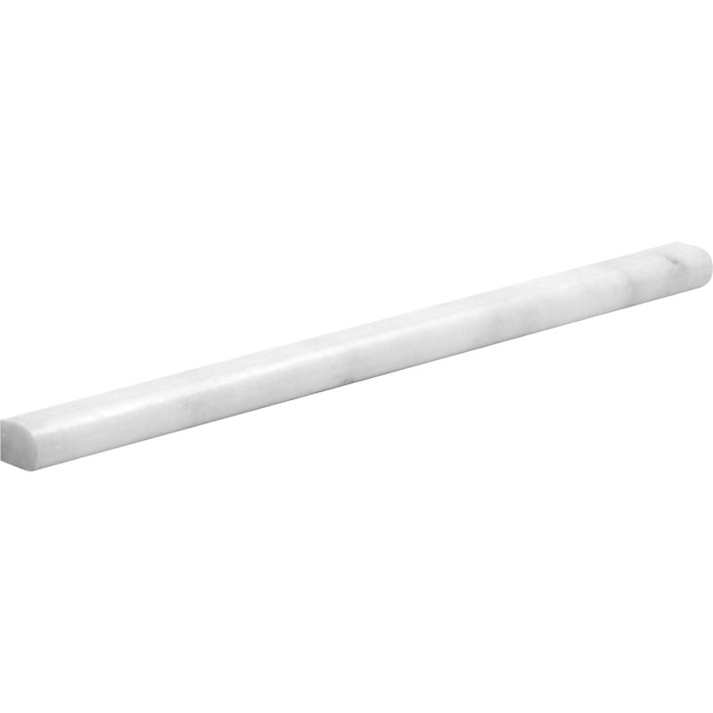 Avalon Polished Pencil Liner Marble Mouldings 1/2x12