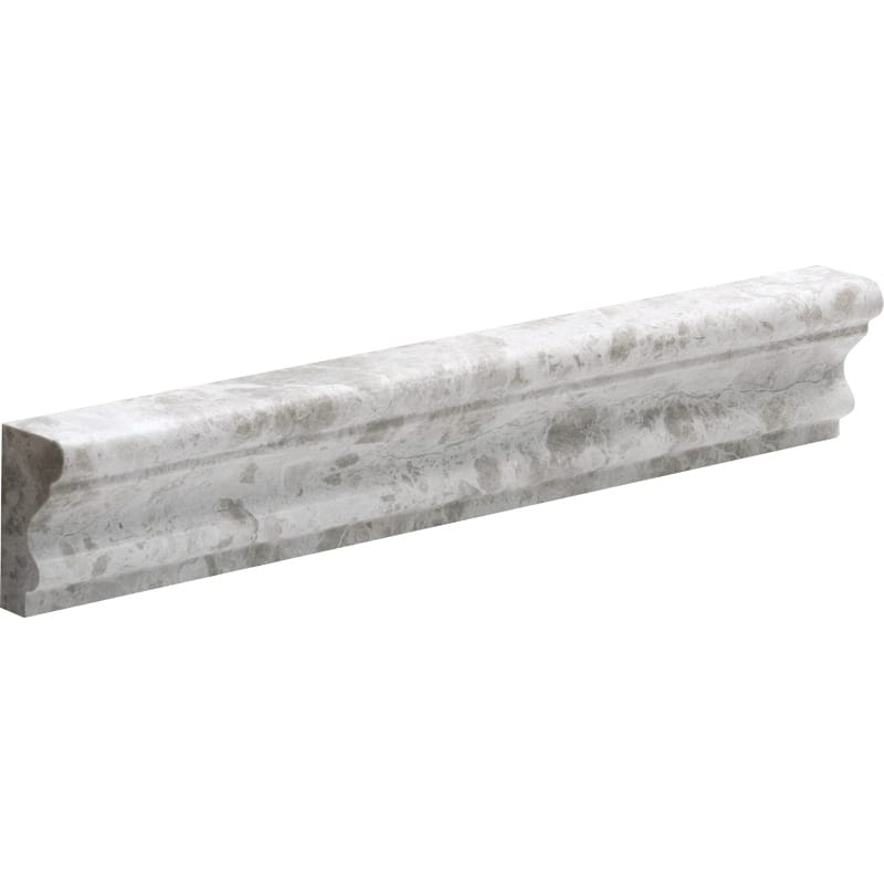 Silver Clouds Polished Andorra Marble Mouldings 2x12