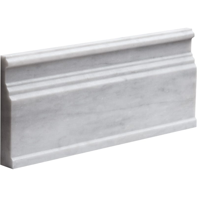 Avenza Honed Base Marble Mouldings 5 1/16x12