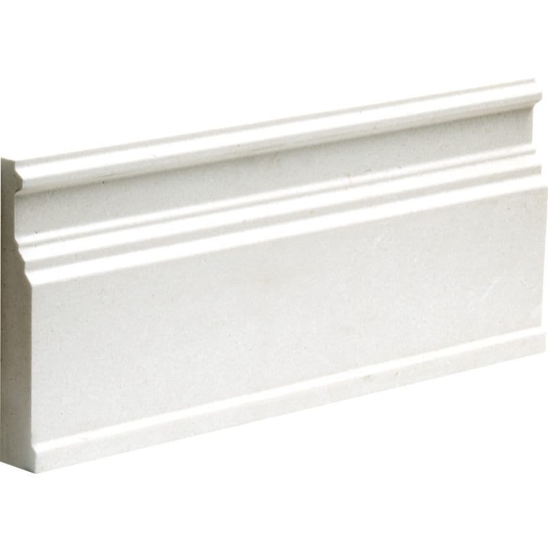 Champagne Polished 5 1/16x12 Base Limestone Mouldings