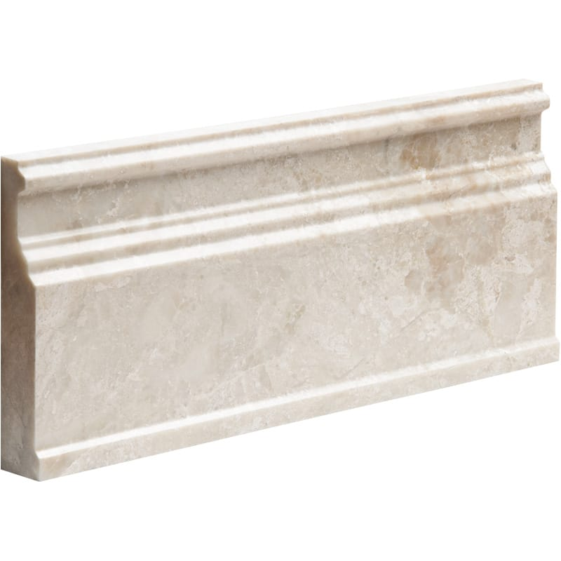 Diana Royal Polished Base Marble Mouldings 5 1/16x12