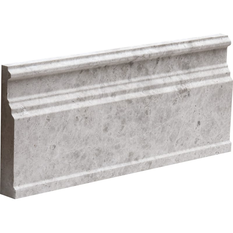 Silver Shadow Honed Base Marble Mouldings 5 1/16x12