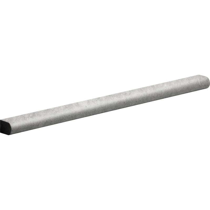 Britannia Dark Honed 1/2x12 Pencil Liner Limestone Mouldings