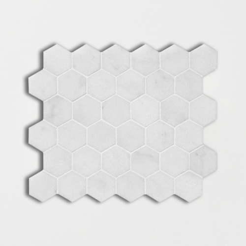Avalon Polished Hexagon Marble Mosaics 10 3/8×12