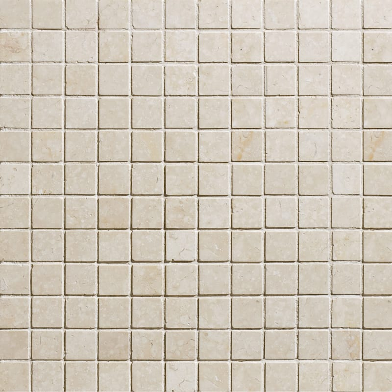 Alexander Cream Polished 12x12 1x1 Marble Mosaics