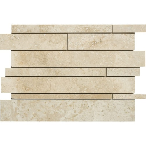 Canyon Honed&filled Slides Travertine Mosaics 11×17