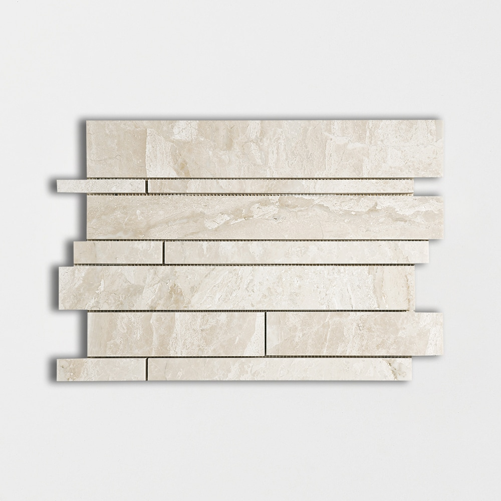 Diana Royal Polished Slides Marble Mosaics 11x17