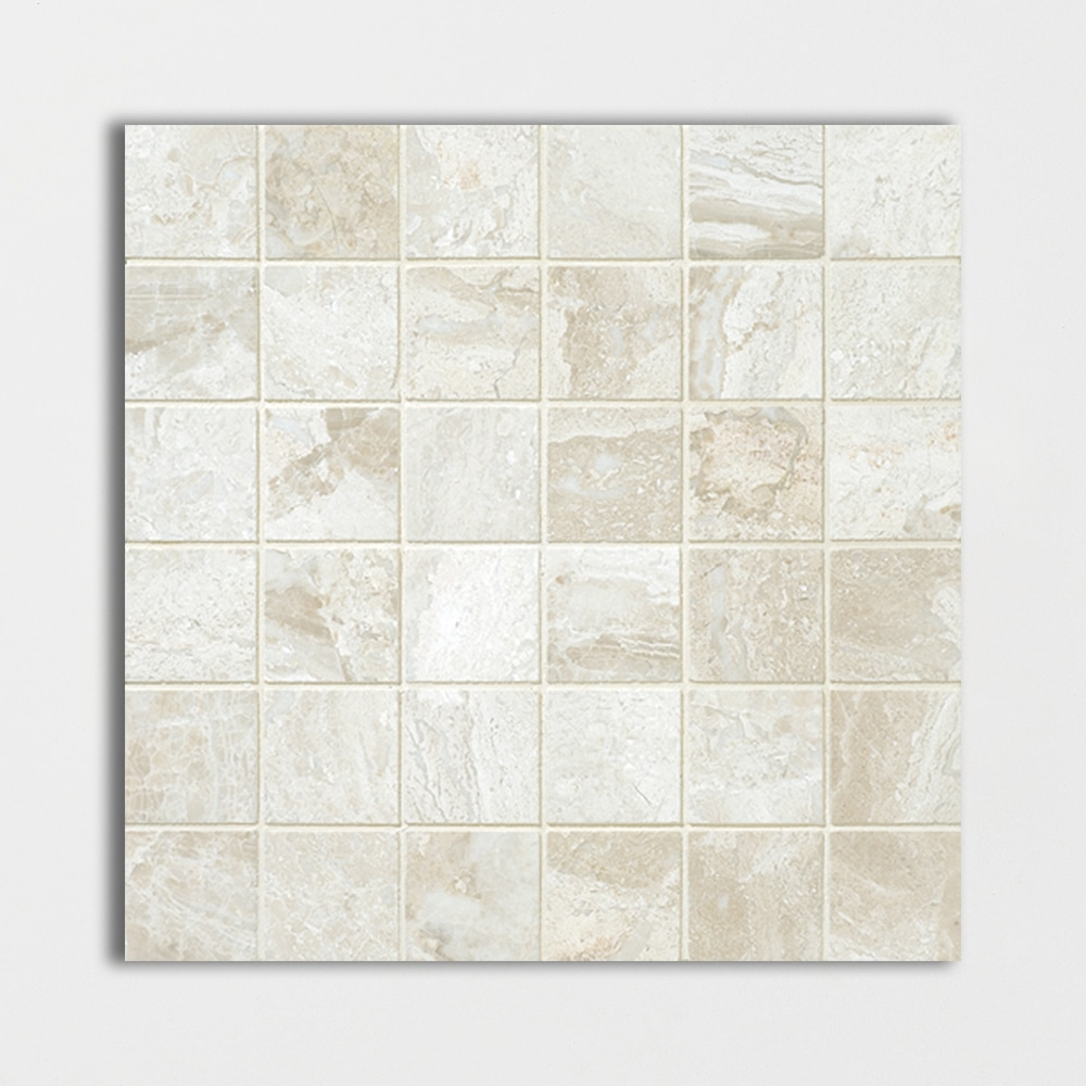 Diana Royal Honed 12x12 2x2 Marble Mosaics