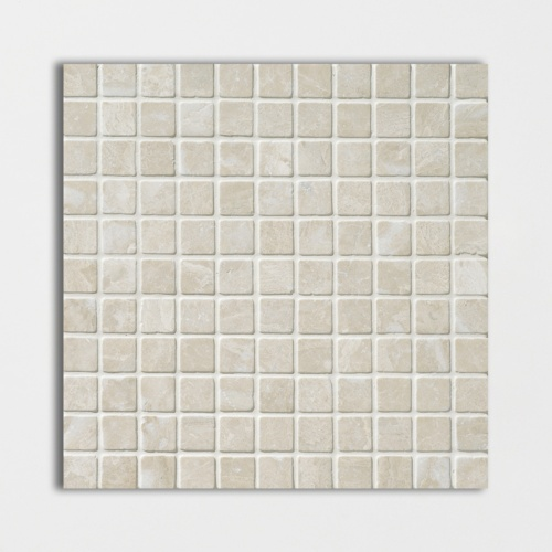 Diana Royal Tumbled 1×1 Marble Mosaics 12×12