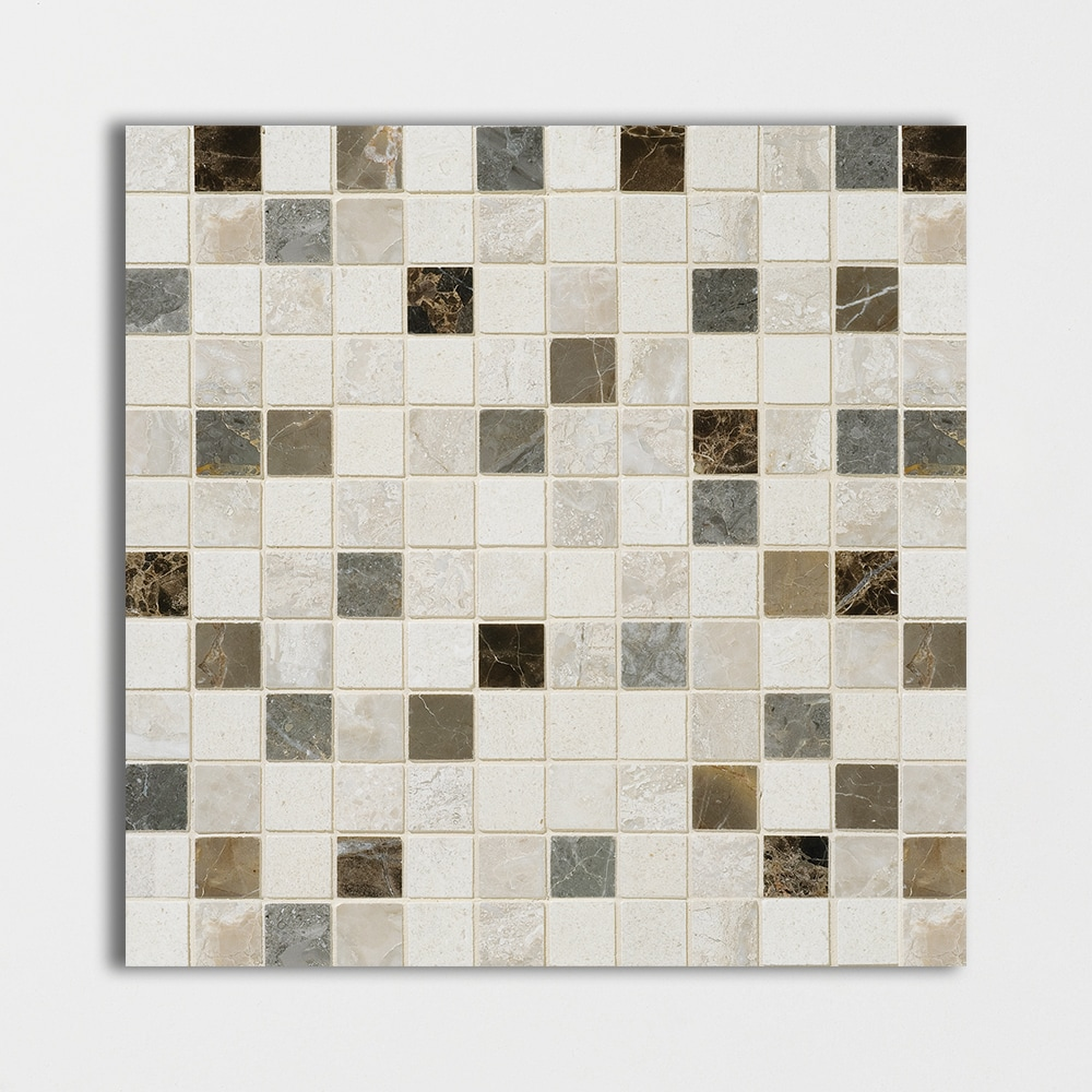 Florence Honed 1x1 Marble Mosaics 12x12