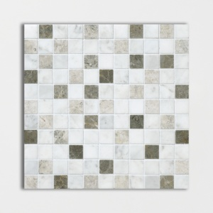 Massa Honed 1x1 Marble Mosaics 12x12