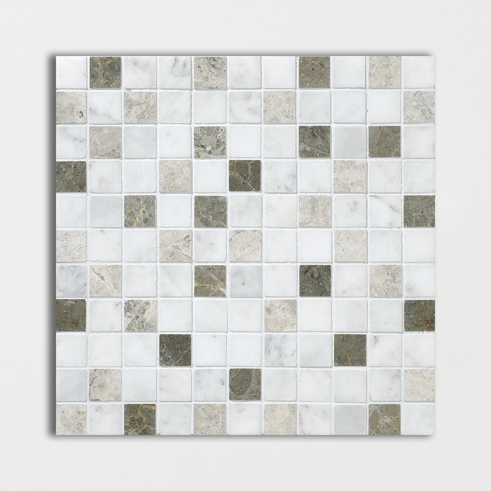 Massa Honed 12x12 1x1 Marble Mosaics