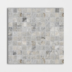 Silverado Honed&filled 1x1 Travertine Mosaics 12x12