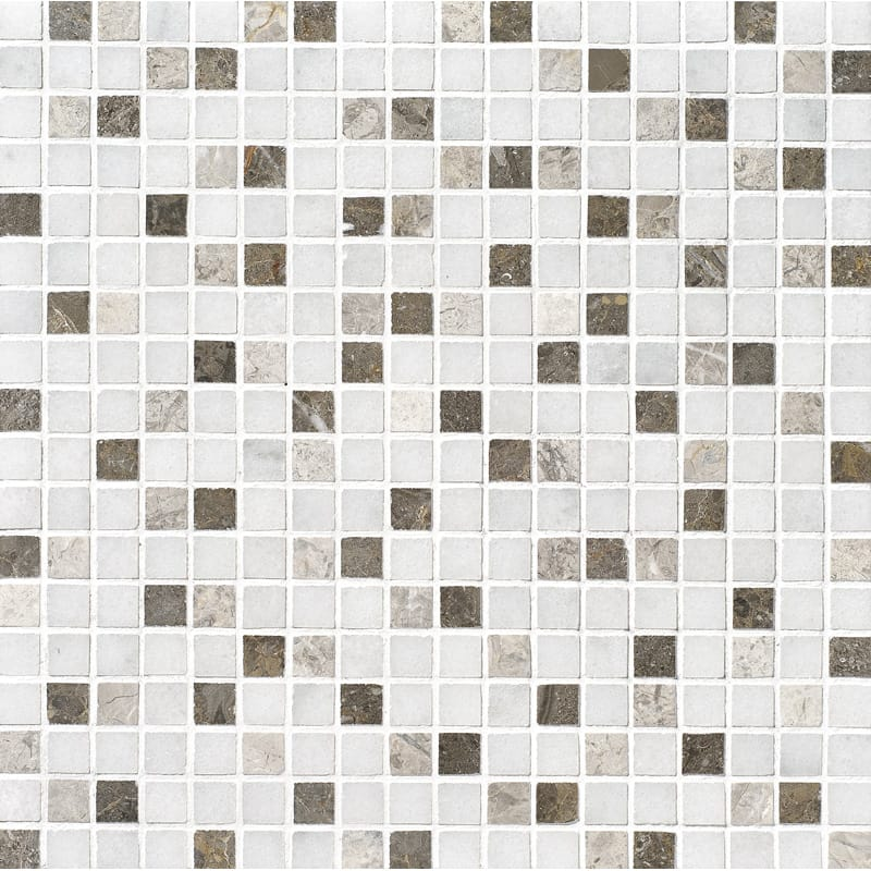 Avalon Polished 12x12 5/8x5/8 Marble Mosaics