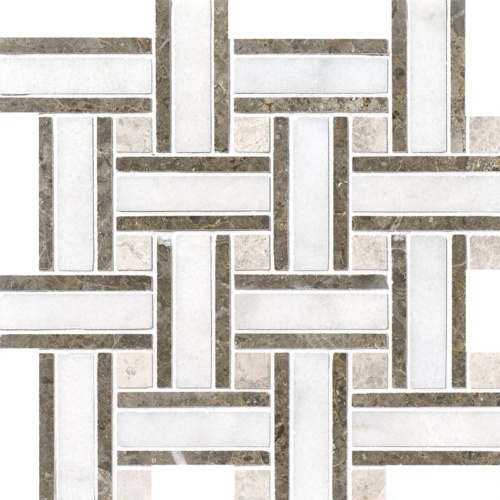 Avalon Polished Lattice Marble Mosaics 12×12