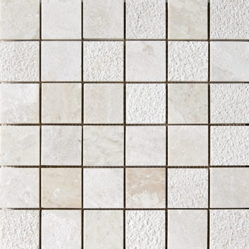 Diana Royal Textured 2×2 Marble Mosaics 12×12