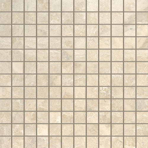Cappuccino Polished 1×1 Marble Mosaics 12×12