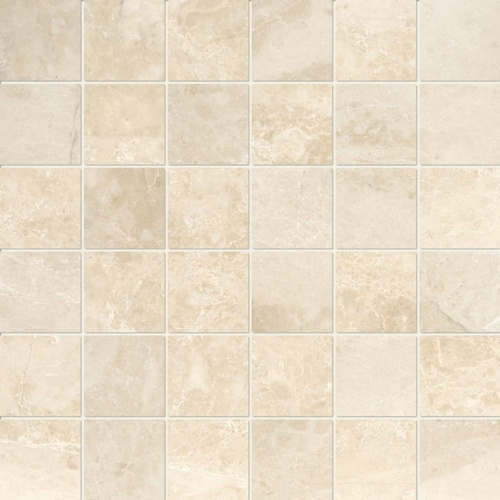 Cappuccino Polished 2×2 Marble Mosaics 12×12