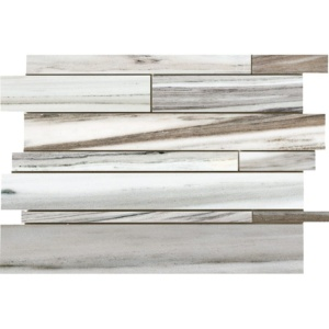 Verona Blend Honed Slides Marble Mosaics 11x17