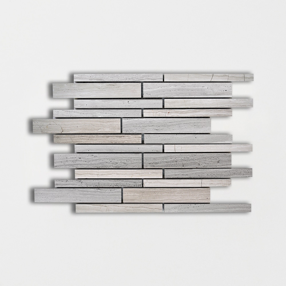 Haisa Light Honed 9x12 Marble Mosaics