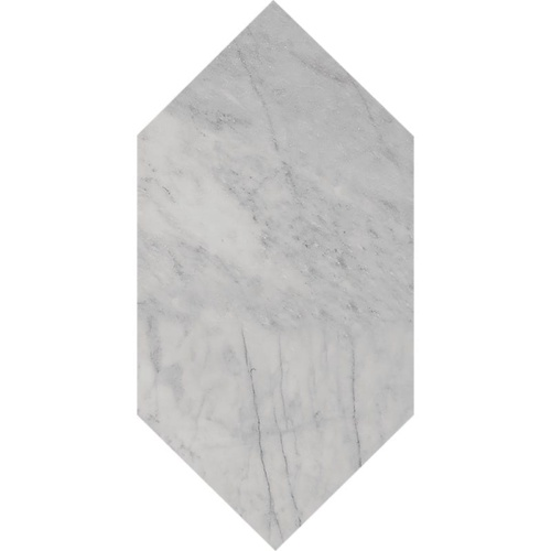 Avenza Honed Large Picket Marble Waterjet Decos 6×12