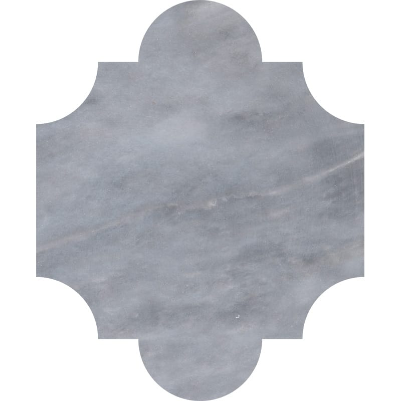 Allure Light Polished San Felipe Marble Waterjet Decos 8x9 3/4