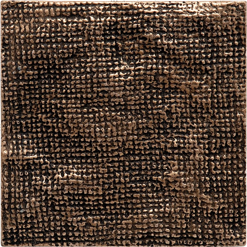 Bronze Brushed 4x4 Metal Decorative