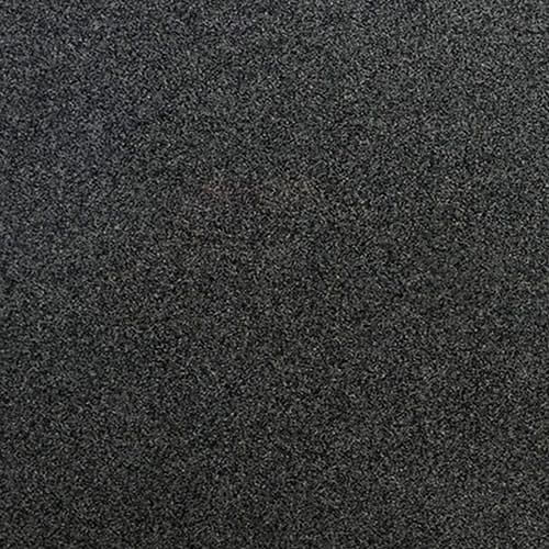 Impala Black Polished Granite Slab Random 1 1/4