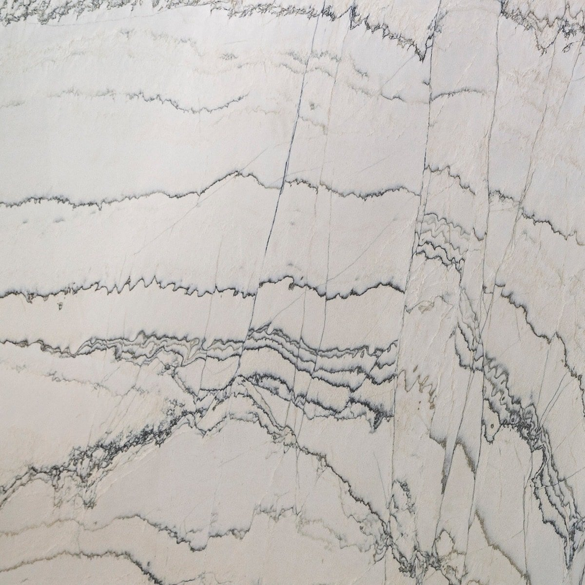 White Macaubas Polished Random 1 1/4 Quartzite Slab