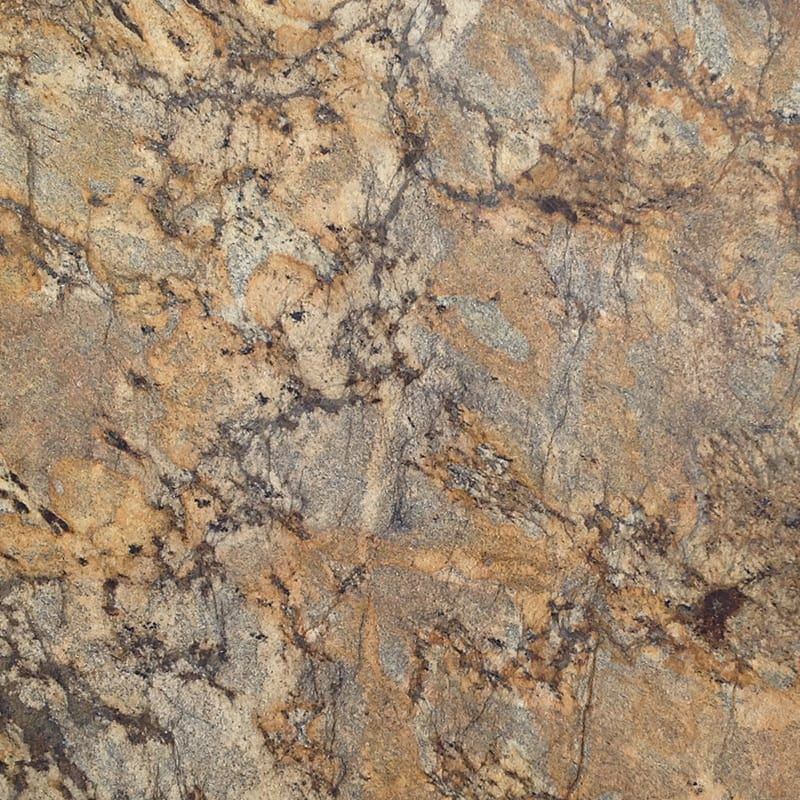 Lapidus Gold Polished Granite Slab Random 1 1/4