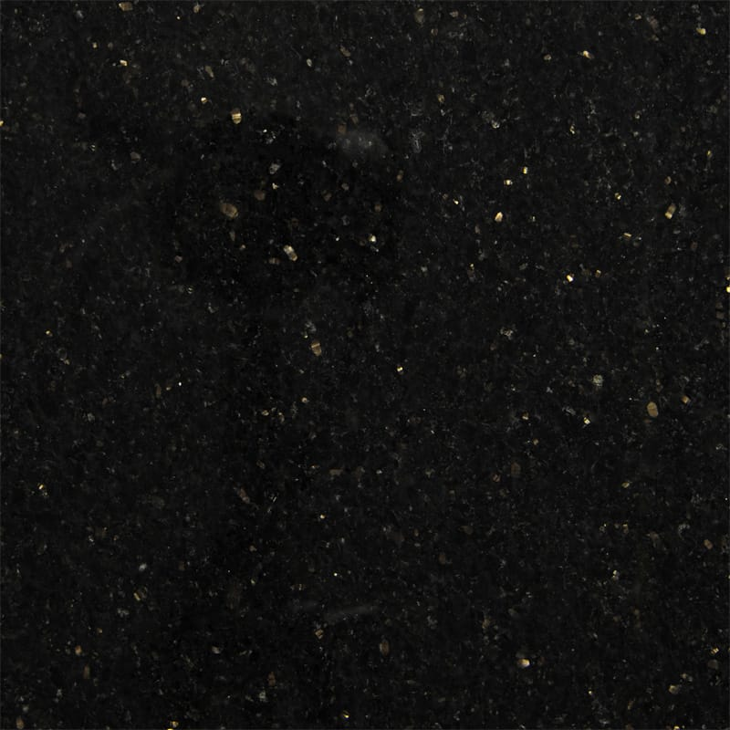 Black Galaxy Polished Granite Slab Random 1 1/4