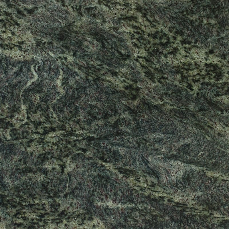 Verde Laura Polished Granite Slab Random 1 1/4