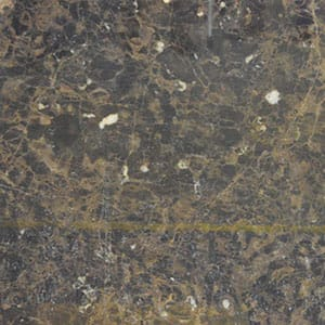 Emperador Dark Polished Marble Slab Random 1 1/4
