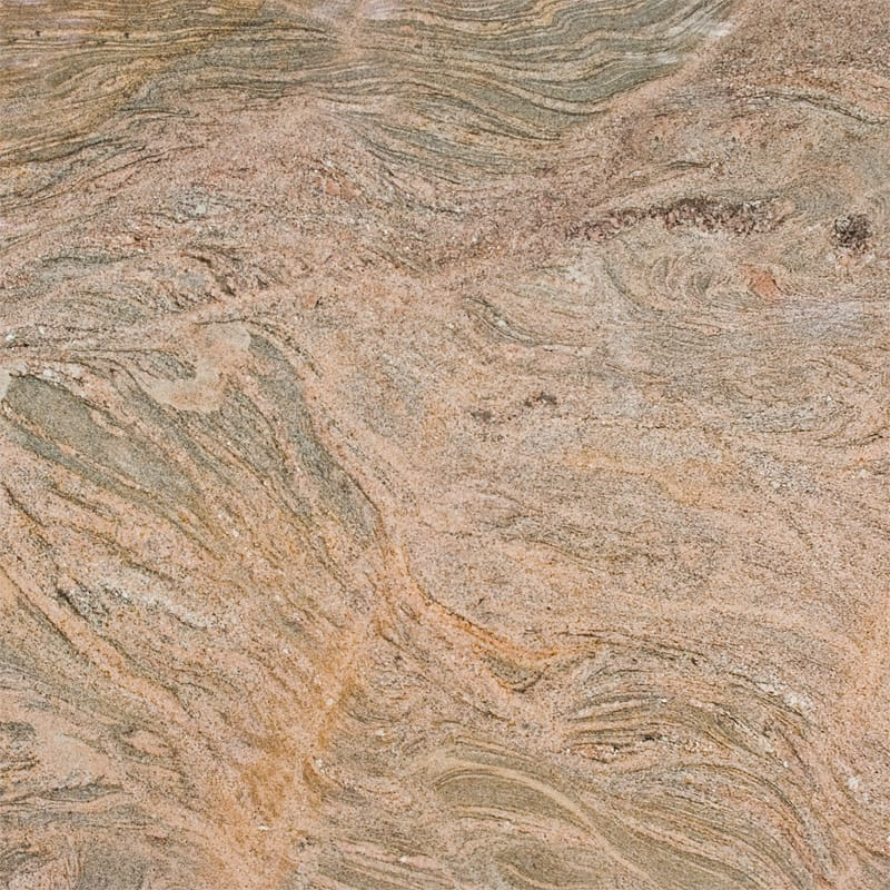 Juparana India Gold Polished Random 1 1/4 Granite Slab